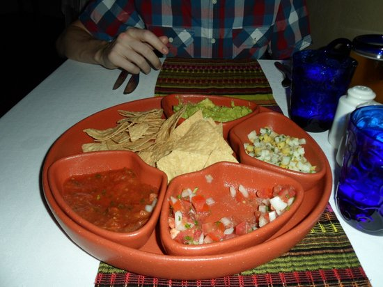 El Dorado Sensimar Riviera Maya: Appetizer at The Mexican Restaurant