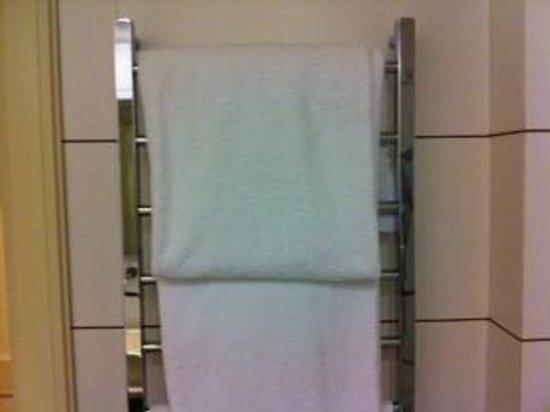 Hotel Londra: caloriferi con asciugamani