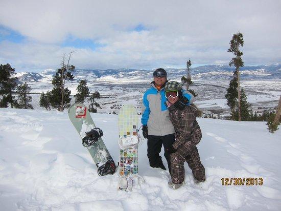 The Mountainside at Silver Creek: Grandby Ski Resort overlooking the Grandby Ranch