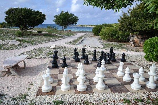 Santa Barbara Beach & Golf Resort, Curacao : Шахматы в саду