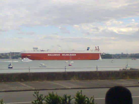 Platter : First Ship to Pass