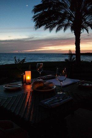 Santa Barbara Beach & Golf Resort, Curacao : Ужин в ресторане Шор