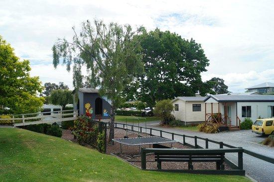 Taupo DeBretts Spa Resort: pretty