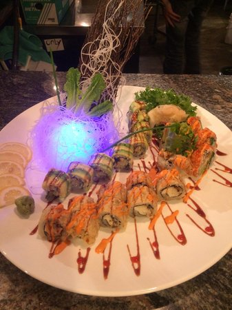 Koi: Chef's special roll