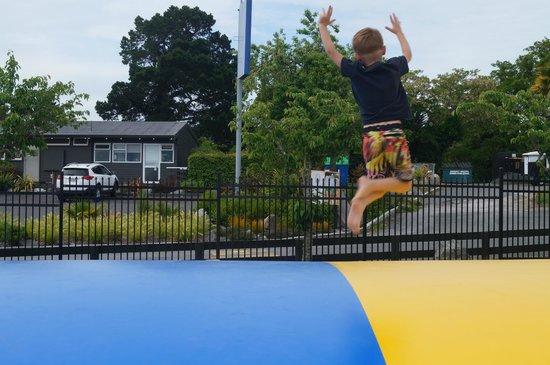 Taupo DeBretts Spa Resort: fun and games
