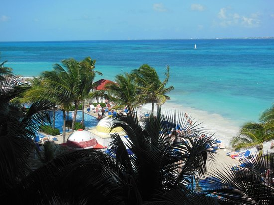 Hotel Riu Cancun: Vista da Varanda 339B - Junior Suite