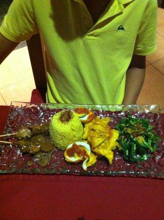 Art Cafe Sanur: Nasi Campur