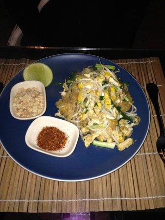 Baan Nam Ping Riverside Village: Pad Thai du restaurant de l'hôtel : les meilleures que j'ai mangé de tout mon séjour en Thailand