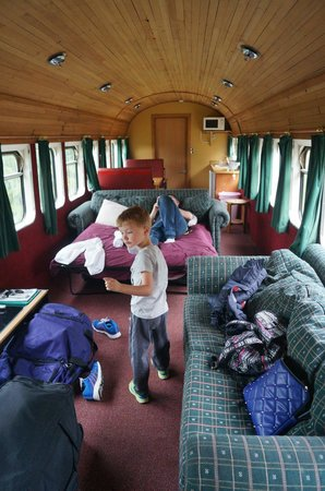 Rimu Park Lodge: in his element