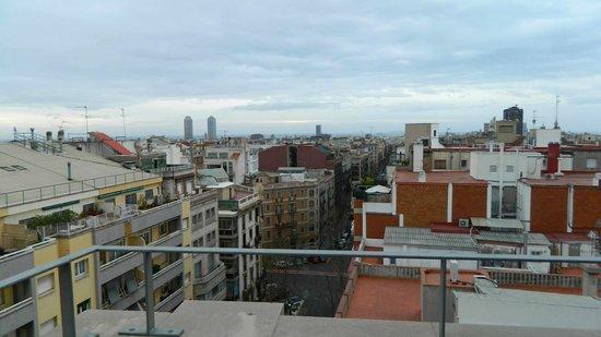 Arago 312 Apartments : vue sur la mer au loin