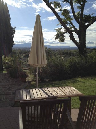 Agriturismo Casa Vacanze Belvedere Pozzuolo: View from Girasol suite