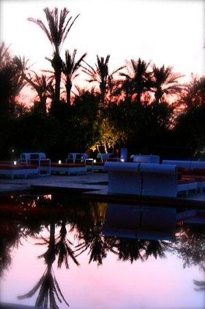 Murano Resort Marrakech: sunset at Murano