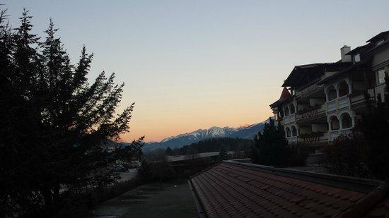 Das Majestic: Vista dalla finestra camera