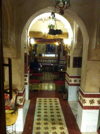 Restaurante Teteria Hammam: Interno