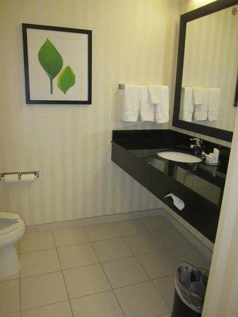 Fairfield Inn & Suites Tallahassee Central: Super clean bathroom