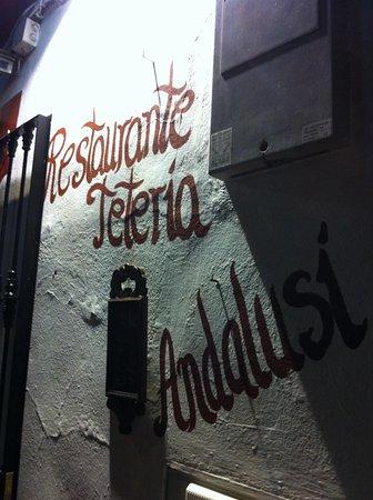 Restaurante Teteria Hammam: Insegna