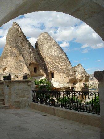 Sultan Cave Suites: Vista desde una terraza