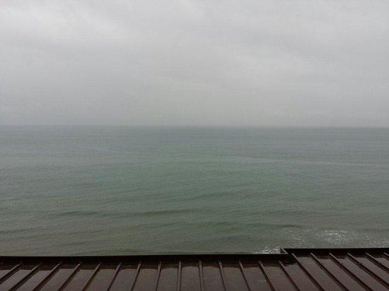 Hotel Badano sul Mare : Vista dalla camera