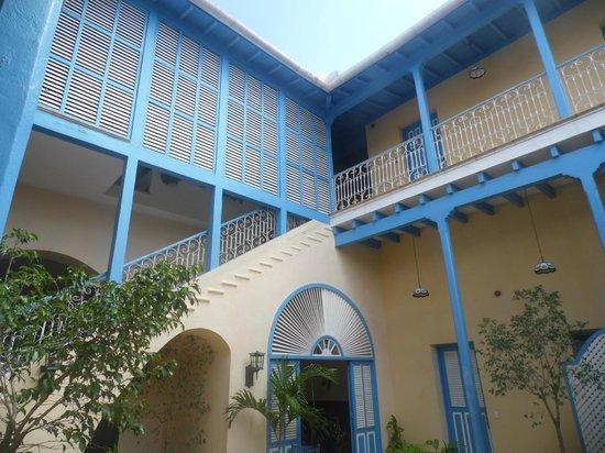 Hotel Cubanacan Mascotte : Terrace