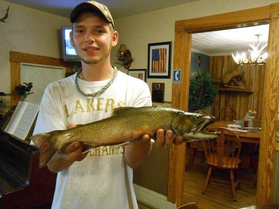 Historic Pittston Farm: Native Brook trout