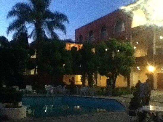 Fiesta Inn Aeropuerto Ciudad de Mexico : Pool area