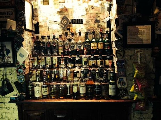 Garryowen Irish Pub: Wall Of Whiskey