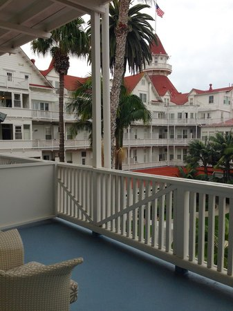 Hotel del Coronado: Resort king balcony