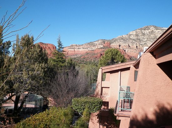 Casa Sedona Inn: view from the terrace