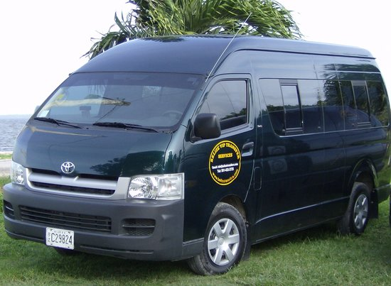 Corozal Town, Belize: 14 seater vans for group charters