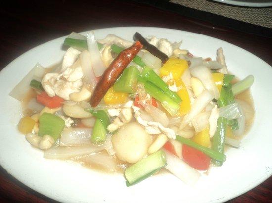 Bangkok Thai Cuisine: el platillo que me recomendo el mesero