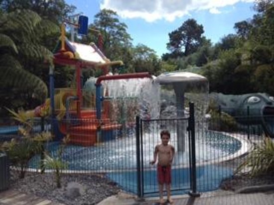 Taupo DeBretts Spa Resort : my son loved this area and keeps talking about it