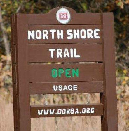 Grapevine Lake: Northshore Trail