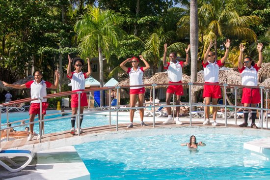 ClubHotel Riu Merengue: Entertainment team