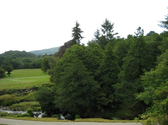 Gidleigh Park Hotel: view from room on top floor