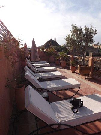 Riad Dar Sheba: Roof Terrace