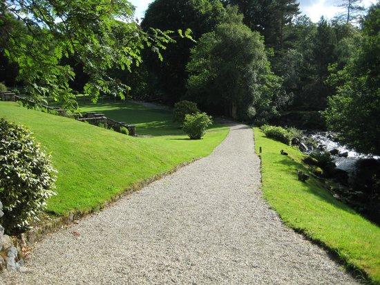 Gidleigh Park Hotel: Tranquil Garden