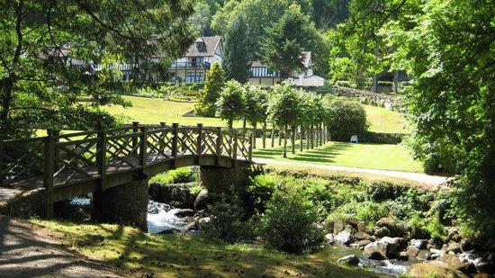 Gidleigh Park Hotel: Hotel garden