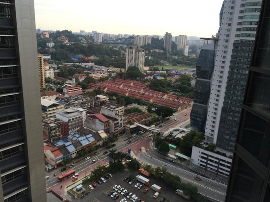 Aloft Kuala Lumpur Sentral : View from 23rd Floor