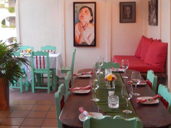 Cafe Juanita: The restaurant