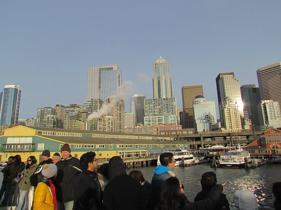 Argosy Cruises - Seattle Waterfront : View from the cruise