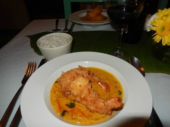 Cafe Juanita: Coconut Shrimp with Red Thai Curry