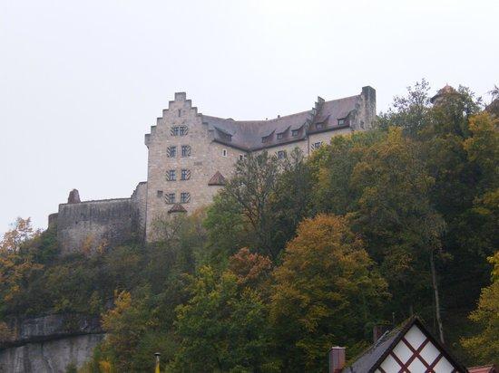 Burg Rabenstein: from the road