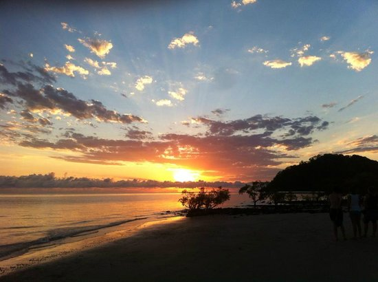 First Sunrise of 2014 from the beach at Cape Trib Beach House