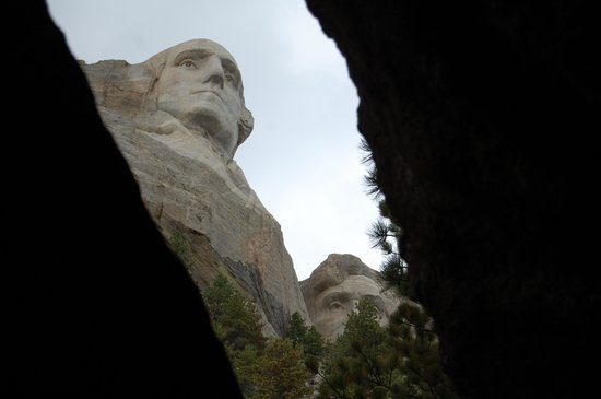 Mount Rushmore National Memorial: From inside the park.