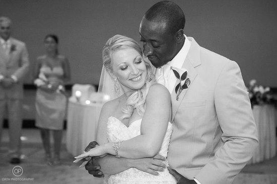 Wyndham Deerfield Beach Resort: Wedding reception