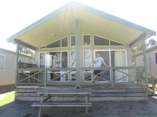 Berrara Beach Chalets: Beach-front chalet