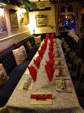 Horse and Jockey Restaurant: Christmas party at the jockey
