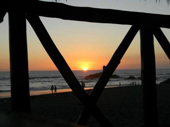 Hotel Suyapa Beach: Atardecer
