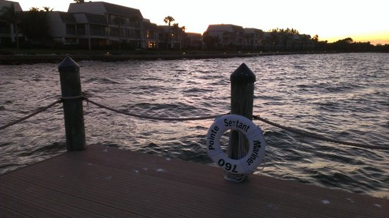 Mariner Pointe: View from fishing pier.