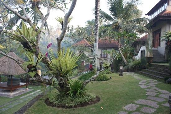 Hotel Villa-Ubud : Exquisite gardens